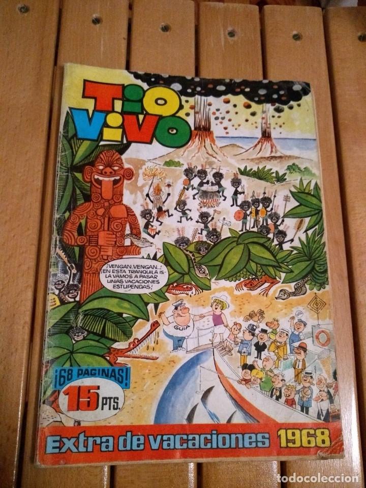 TÍO VIVO EXTRA DE VACACIONES 1968 (Tebeos y Comics - Bruguera - Tio Vivo)