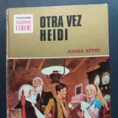 Tebeos: COLECCIÓN HISTORIAS COLOR-Nº 9-OTRA VEZ HEIDI-. Lote 182206143