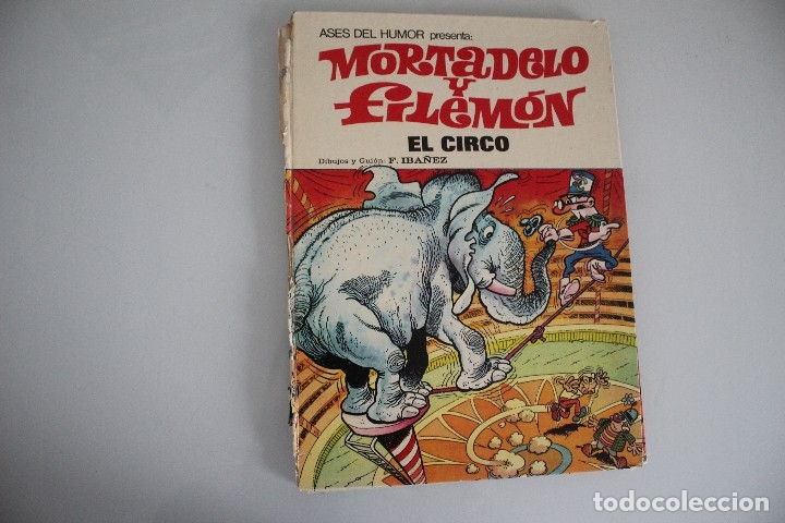 MORTADELO Y FILEMON EL CIRCO (Tebeos y Comics - Bruguera - Mortadelo)