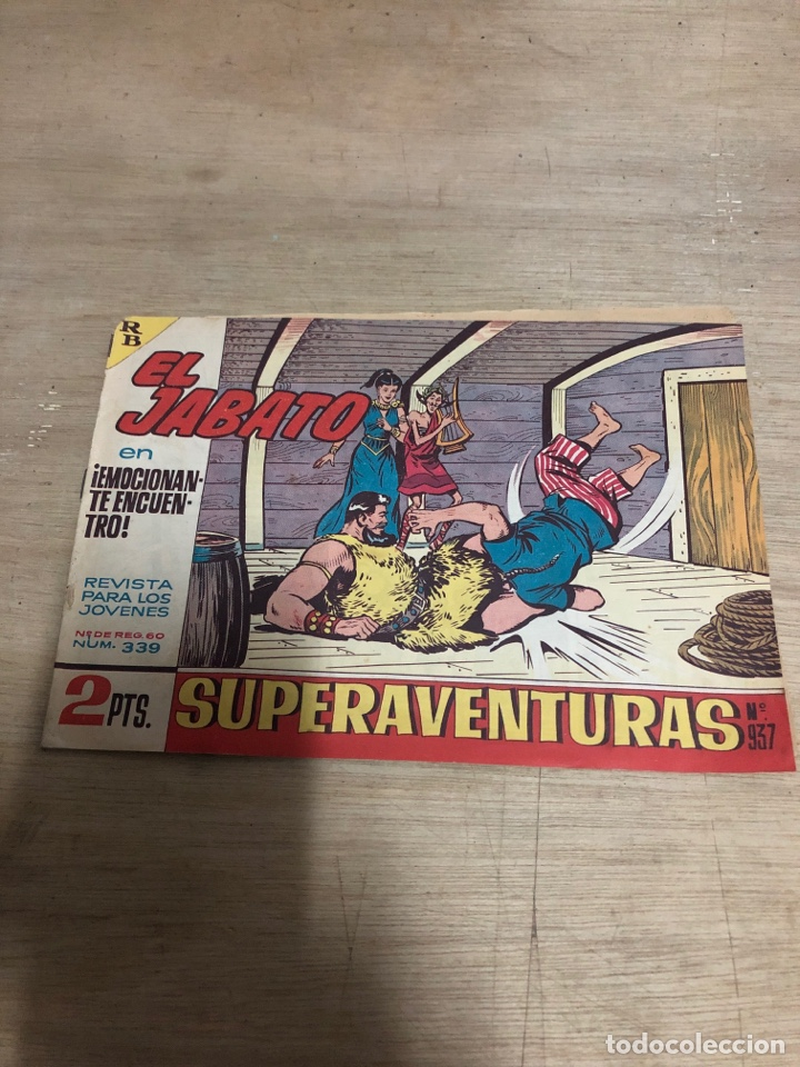 EL JABATO (Tebeos y Comics - Bruguera - Jabato)