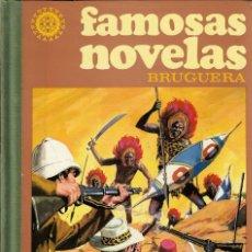 Tebeos: FAMOSAS NOVELAS BRUGUERA TOMO III - 3 - EDT. BRUGUERA, 2ª EDICIÓN, 1981.. Lote 182300646