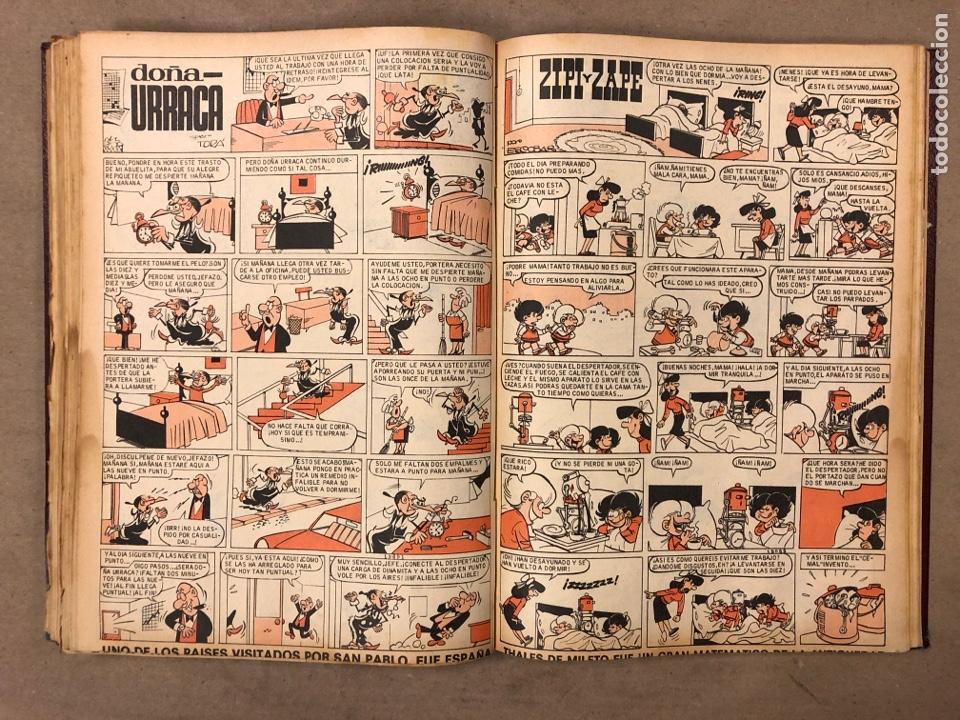 Tebeos: TOMO CON 14 NÚMEROS ENCUADERNADOS DE PULGARCITO. EDITORIAL BRUGUERA 1965/67. - Foto 7 - 182330325
