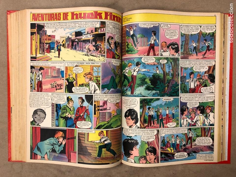 Tebeos: TOMO CON 14 NÚMEROS ENCUADERNADOS DE PULGARCITO. EDITORIAL BRUGUERA 1969/70. - Foto 10 - 182330571