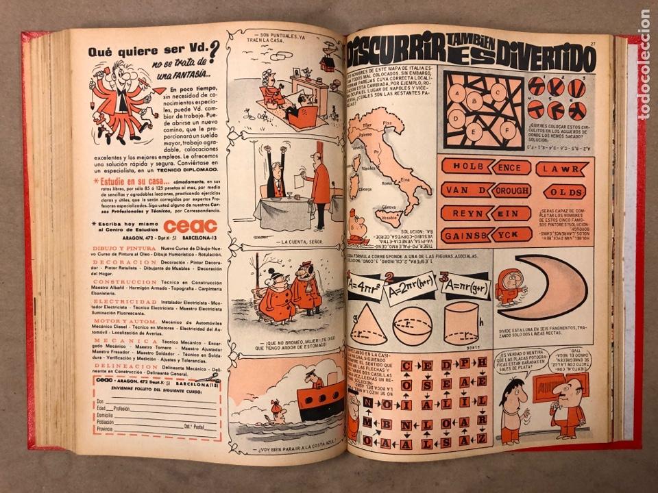 Tebeos: TOMO CON 14 NÚMEROS ENCUADERNADOS DE PULGARCITO. EDITORIAL BRUGUERA 1969/70. - Foto 11 - 182330571