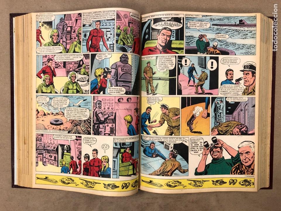Tebeos: TOMO CON 23 TEBEOS ENCUADERNADOS DIN DAN EDITORIAL BRUGUERA 1968/69. - Foto 27 - 182332725