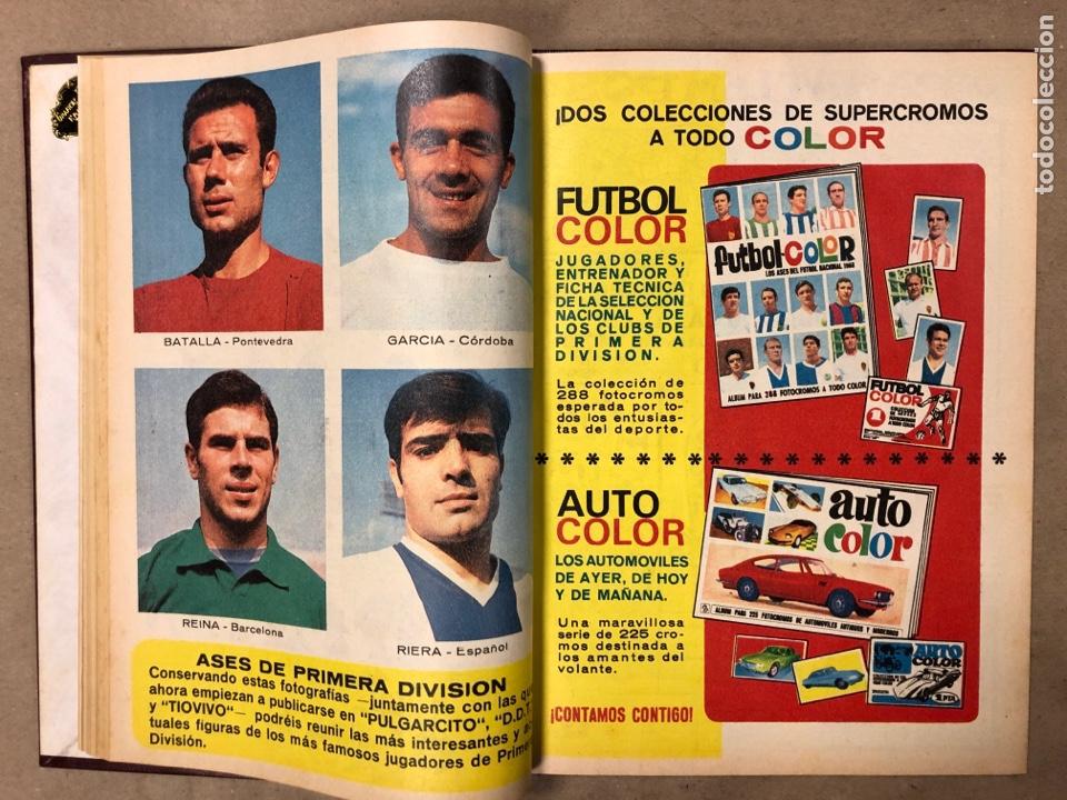Tebeos: TOMO CON 10 TEBEOS ENCUADERNADOS DIN DAN EDITORIAL BRUGUERA 1968/69. - Foto 13 - 182333022