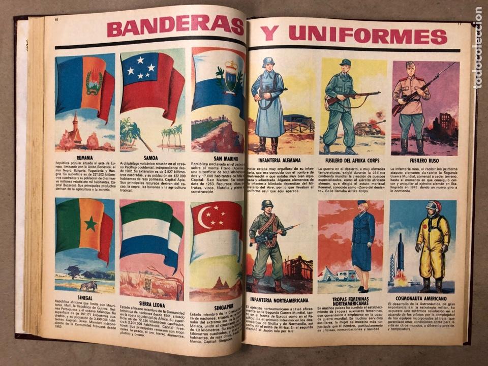 Tebeos: TOMO CON 10 TEBEOS ENCUADERNADOS DIN DAN EDITORIAL BRUGUERA 1968/69. - Foto 15 - 182333022