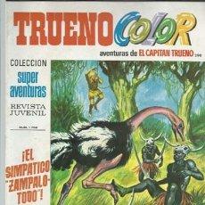 Tebeos: TRUENO COLOR 290, 1974, BRUGUERA, MUY BUEN ESTADO. Lote 182458497