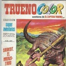 Tebeos: TRUENO COLOR 287, 1974, BRUGUERA, MUY BUEN ESTADO. Lote 182458593