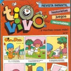 Tebeos: TIO VIVO Nº 17 HISTORIETAS RECORTABLES JUEGOS NUEVO 1986 BRUGUERA. Lote 182467183