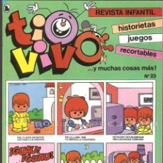 Tebeos: TIO VIVO Nº 23 HISTORIETAS RECORTABLES JUEGOS NUEVO 1986 BRUGUERA. Lote 182469307