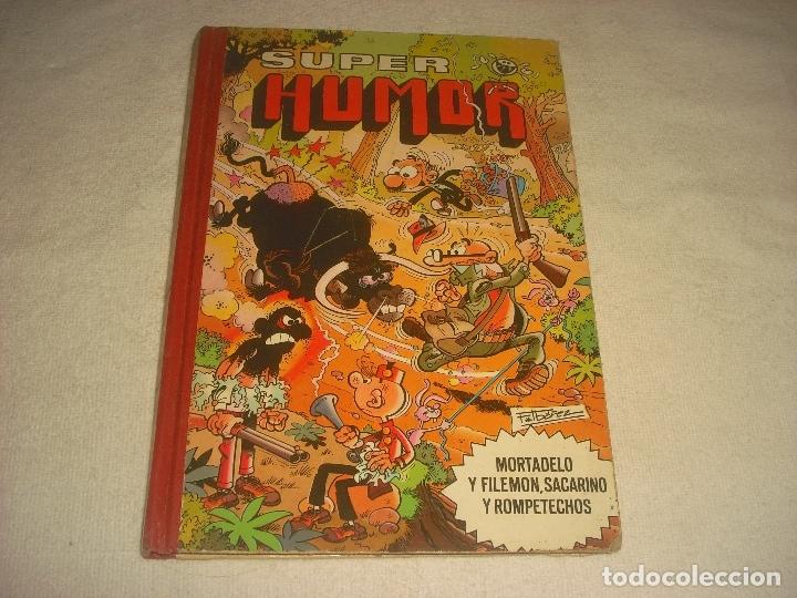SUPER HUMOR . VOLUMEN XXXIII. MORTADELO Y FILEMON, SACARINO Y ROMPETECHOS. (Tebeos y Comics - Bruguera - Super Humor)