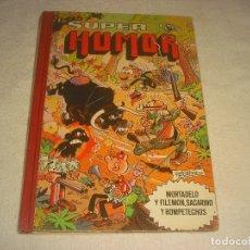 Tebeos: SUPER HUMOR . VOLUMEN XXXIII. MORTADELO Y FILEMON, SACARINO Y ROMPETECHOS.. Lote 182469577