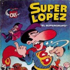 Tebeos: LOTE 6 TEBEOS DE SUPER LOPEZ SEMANAL REVISTA JUVENIL. Lote 182473587