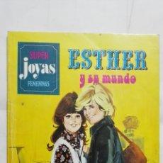 Tebeos: ESTHER Y SU MUNDO Nº 6, SUPER JOYAS FEMENINAS, EDITORIAL BRUGUERA. Lote 182495981