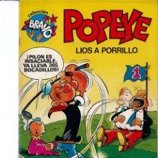 Tebeos: LOTE 2 TEBEOS DE POPEYE N°4 Y Nº 5. Lote 182560566