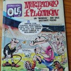 Tebeos: MORTADELO Y FILEMON, MUNDIAL DE FUTBOL - COLECCION OLE! 149 M. Nº 82 - BRUGUERA EDICIONES B 1988. Lote 182573426
