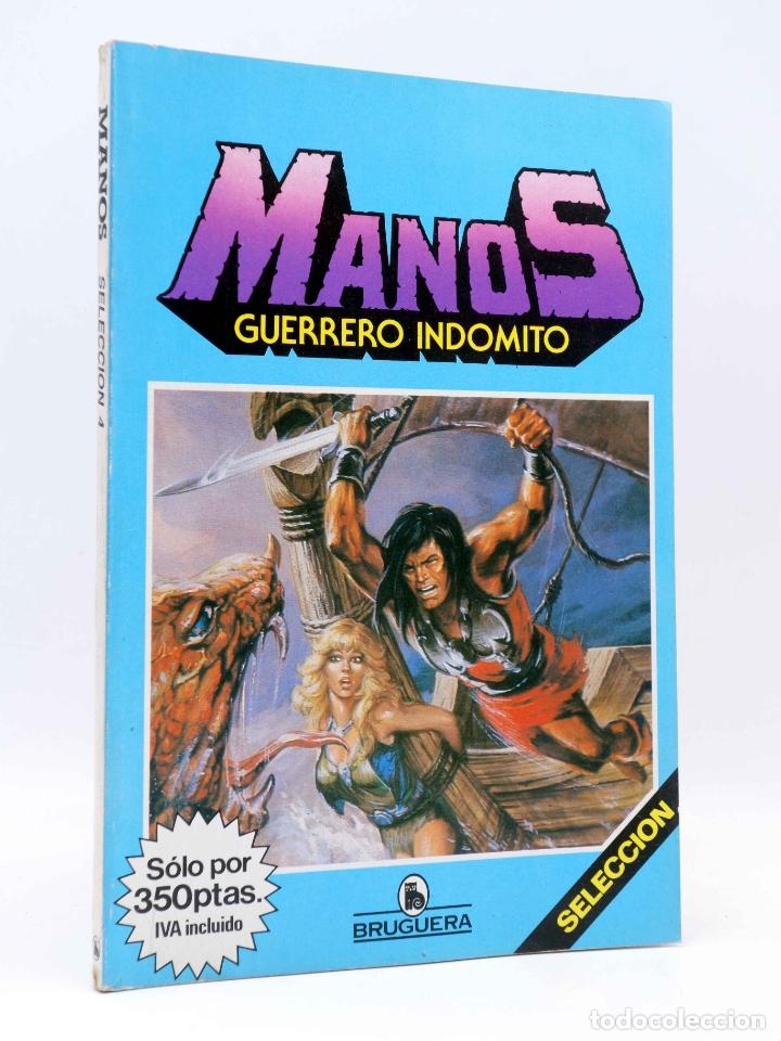 MANOS GUERRERO INDÓMITO SELECCIÓN 4. RETAPADO 19-23 (CORREA) BRUGUERA, 1985. COMICS BRUGUERA. OFRT (Tebeos y Comics - Bruguera - Otros)