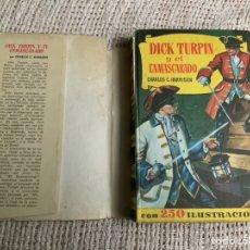 Tebeos: DICK TURPIN Y EL ENMASCARADO - COLECCIÓN HISTORIAS SELECCIÓN - EDITA : BRUGUERA. Lote 182667586