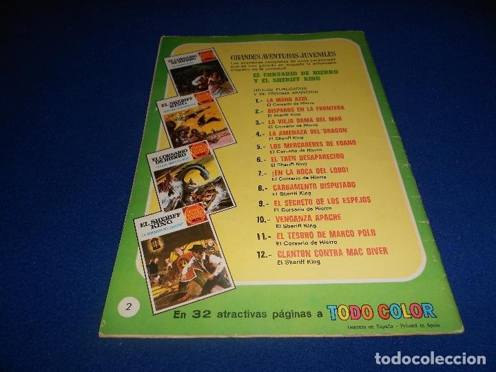 Tebeos: GRANDES AVENTURAS JUVENILES - Nº 2 - EL SHERIFF KING - DISPAROS EN LA FRONTERA - BRUGUERA - 1971 - Foto 6 - 182701795
