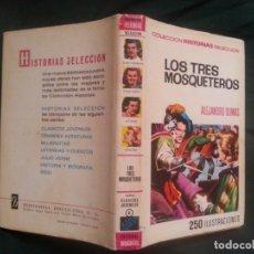 Tebeos: LOS TRES MOSQUETEROS - ALEJANDRO DUMAS - CLASICOS JUVENILES 6. Lote 182701882