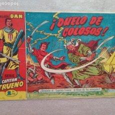 Tebeos: CAPITAN TRUENO Nº 22 ORIGINAL BRUGUERA AMBROS. Lote 182705971