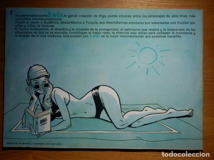 Tebeos: COMIC - TEBEO - 120 TIRAS DE LOLA - BRUGUERA 1975 - Nº 13 - - Foto 2 - 182735296