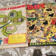 Tebeos: DDT EXTRA VERANO 1970 BRUGUERA. Lote 182754632
