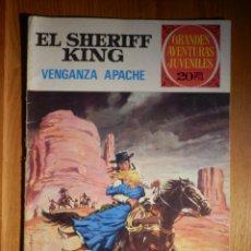 Tebeos: GRANDES AVENTURAS JUVENILES - EL SHERIFF KING - EL TREN DESAPARECIDO - Nº 6 - BRUGUERA. Lote 182762857
