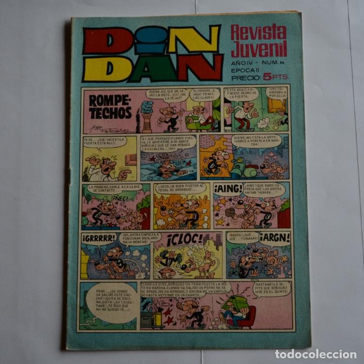 DIN DAN Nº 86. AÑO IV - EPOCA II. BRUGUERA 1969. LITERACOMIC. C2 (Tebeos y Comics - Bruguera - Din Dan)