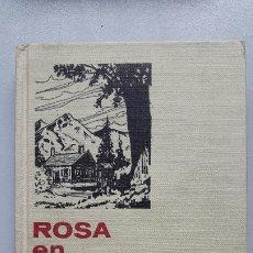 Tebeos: ROSA EN FLOR- LOUISE MAY ALCOTT. SERIE MUJERCITAS Nº 7, 1971.. Lote 182834480