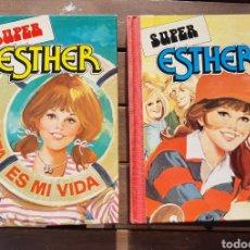 Tebeos: SUPER ESTHER N° 1 Y 2 - 1982 BRUGUERA. Lote 182861855