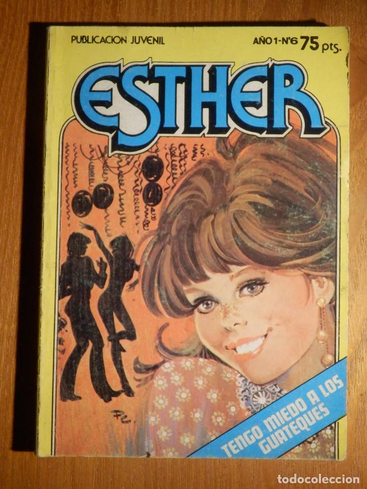 TEBEO - COMIC - ESTHER - TENGO MIEDO A LOS GUATEQUES - AÑO 1 N° 6- BRUGUERA 1983 (Tebeos y Comics - Bruguera - Esther)