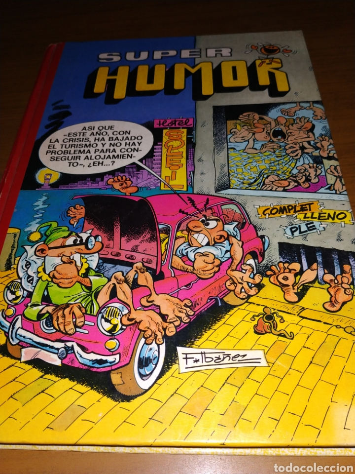 SUPER HUMOR VOLUMEN 18 EDITORIAL BRUGUERA (Tebeos y Comics - Bruguera - Super Humor)