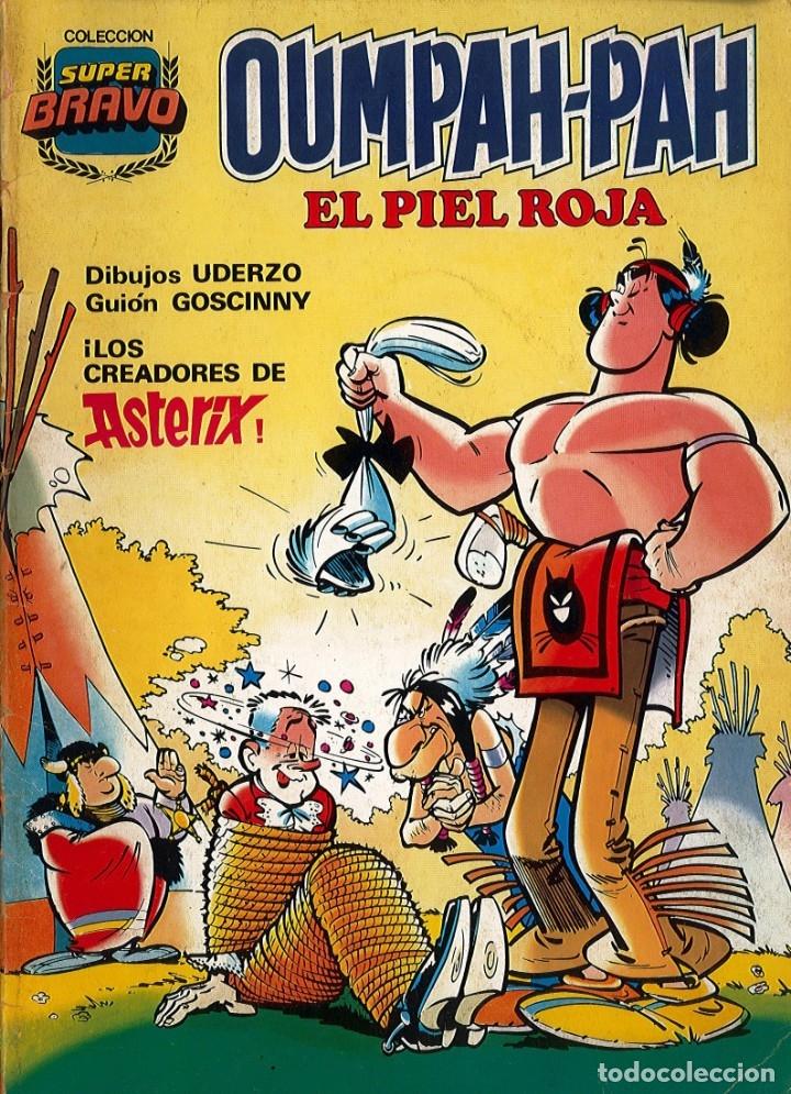 OUMPAH-PAH EL PIEL RIOJA Nº 1 - ED. BRUGUERA (COLECCION SUPERBRAVO) (Tebeos y Comics - Bruguera - Bravo)