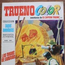 Tebeos: TRUENO COLOR Nº 90 AÑO III 1971 1ª PRIMERA EPOCA BRUGUERA 8 PTS EL CAPITAN TRUENO. Lote 182940182