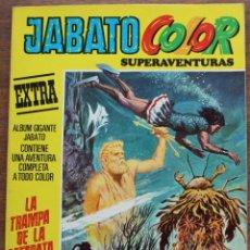 Tebeos: JABATO COLOR Nº 51 PRIMERA ÉPOCA. LA TRAMPA DE LA CATARATA. Lote 182940507
