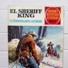 Tebeos: GRANDES AVENTURAS JUVENILES Nº 40. EL SHERIFF KING: EL ESPANTAPÁJAROS ASESINADO. Lote 182956115