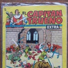 Tebeos: EL CAPITAN TRUENO. Nº 163 EXTRA 1963. AÑO IV ORIGINAL. EDITORIAL BRUGUERA. Lote 182968325