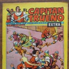 Tebeos: EL CAPITAN TRUENO. Nº 128 EXTRA 1962. AÑO III ORIGINAL. EDITORIAL BRUGUERA. Lote 182974790
