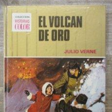 Tebeos: COLECCION HISTORIAS COLOR - EL VOLCAN DE ORO - JULIO VERNE - BRUGUERA. Lote 182992847