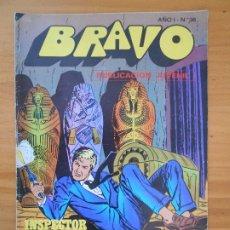 Tebeos: BRAVO Nº 36 - INSPECTOR DAN Nº 18 - BRUGUERA (FW). Lote 183010051
