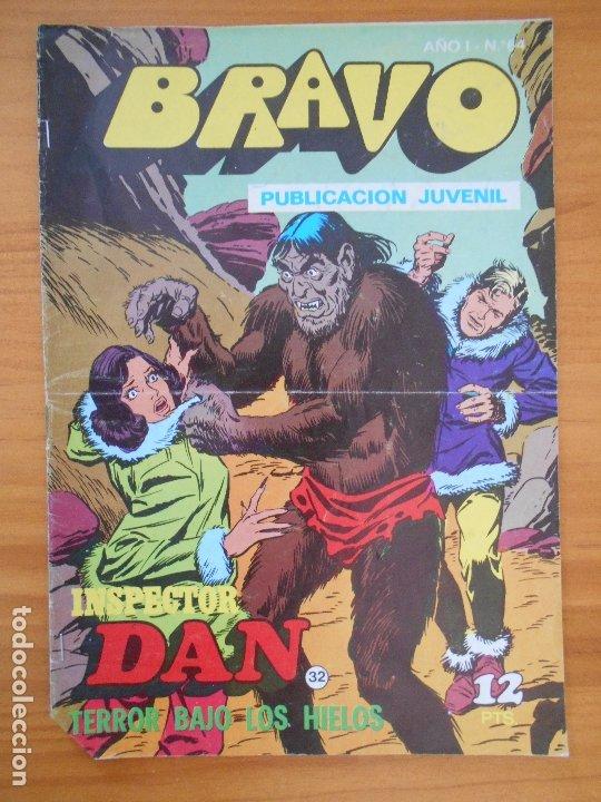 BRAVO Nº 64 - INSPECTOR DAN Nº 32 - BRUGUERA (FW) (Tebeos y Comics - Bruguera - Bravo)