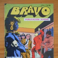 Tebeos: BRAVO Nº 68 - INSPECTOR DAN Nº 34 - BRUGUERA (FW). Lote 183011330