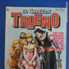 Tebeos: COMIC DE EL CAPITAN TRUENO AÑO 1985 Nº 6 DE BRUGUERA LOTE 35 F. Lote 183039723