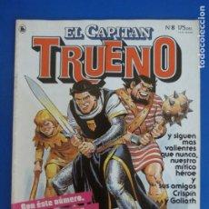 Tebeos: COMIC DE EL CAPITAN TRUENO AÑO 1985 Nº 8 DE BRUGUERA LOTE 18 E. Lote 183039833