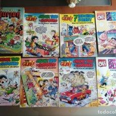 Tebeos: 8 COMICS VARIADOS: CHICHA, TATO Y CLODOVEO, SUPER HUMOR, ZIPI Y ZAPE. Lote 183066078