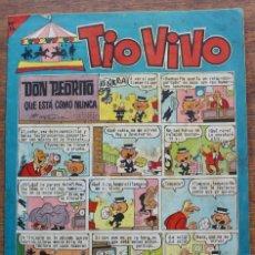Tebeos: TIO VIVO, Nº 222, AÑO VIII, 2ª EPOCA. BRUGUERA 1965.. Lote 183069907