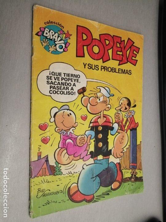 POPEYE Y SUS PROBLEMAS / COLECCIÓN BRAVO Nº 1 / BRUGUERA 1ª EDICIÓN 1982 (Tebeos y Comics - Bruguera - Bravo)