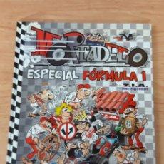 Tebeos: MORTADELO ESPECIAL FORMULA 1 EDICIONES B TAPA DURA. Lote 183252685